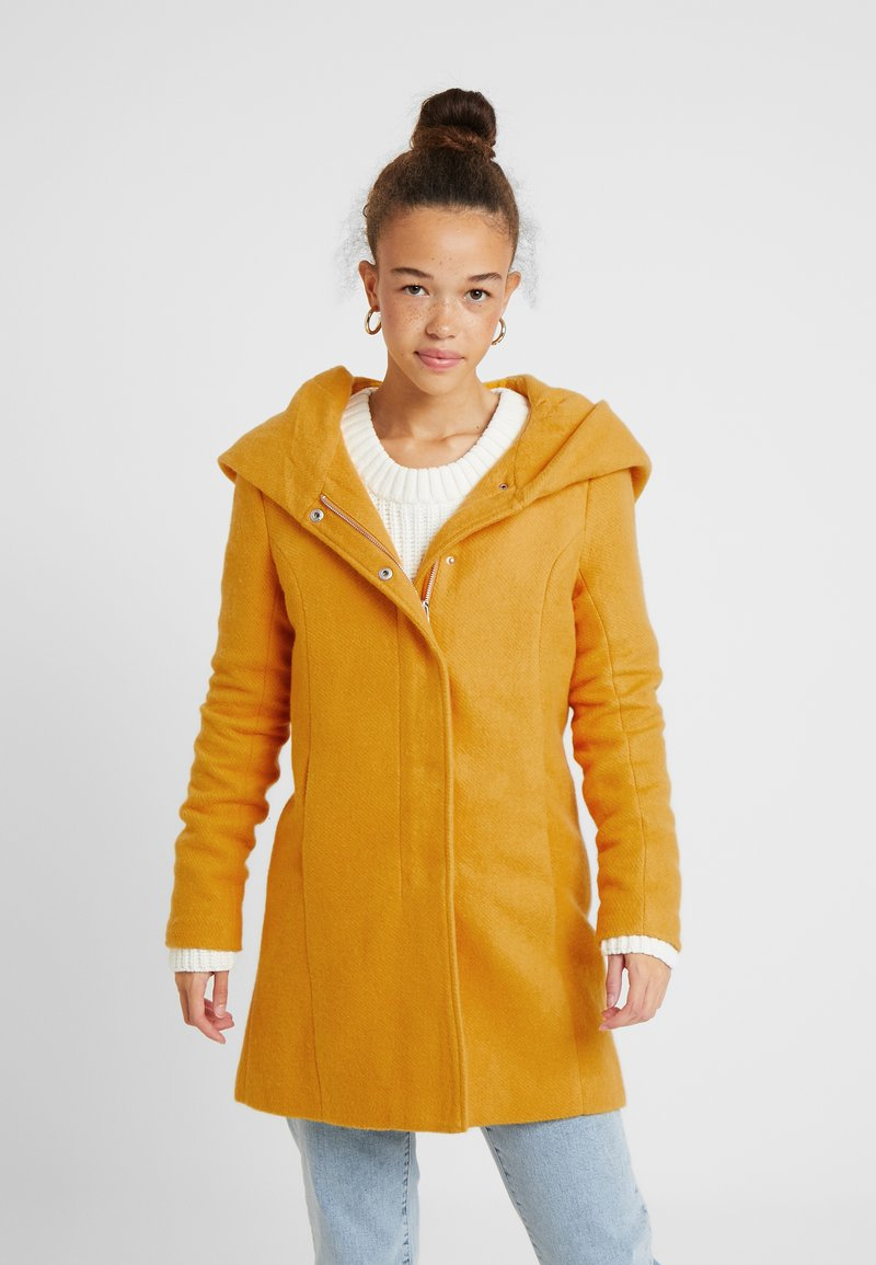 ONLY Petite - ONLSEDONA MARIE COAT - Kurzmantel - golden yellow