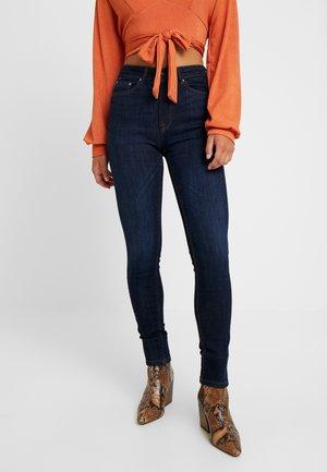 ONLPAOLA - Jeans Skinny - dark blue denim