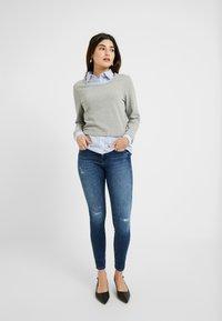 ONLY Petite - ONLFSHAPE - Jeans Skinny Fit - dark blue denim - 1
