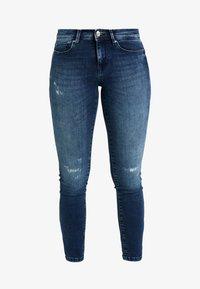 ONLY Petite - ONLFSHAPE - Jeans Skinny Fit - dark blue denim - 4
