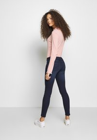 ONLY Petite - ONLCORAL LIFE - Jeans Skinny Fit - dark blue denim - 2