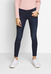 ONLY Petite - ONLCORAL LIFE - Jeans Skinny Fit - dark blue denim - 0
