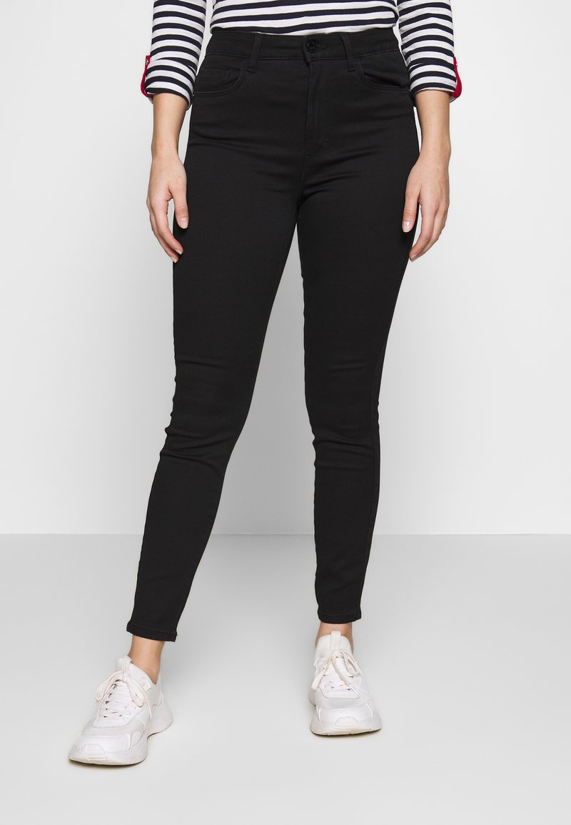 ONLY Petite - ONLROYALE HIGH - Jeans Skinny - black denim