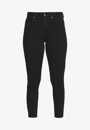 NLPOWER MID PUSH UP  - Jeans Skinny Fit - black
