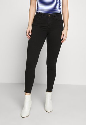 NLPOWER MID PUSH UP  - Jeans Skinny - black