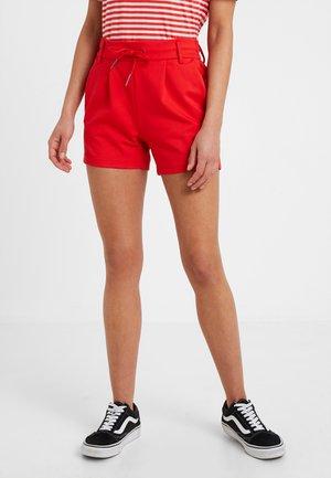 ONLPOPTRASH EASY - Shorts - flame scarlet
