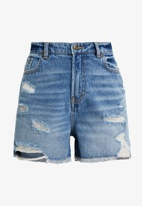 ONLY Petite - ONLKELLY - Shortsit - medium blue denim - 4