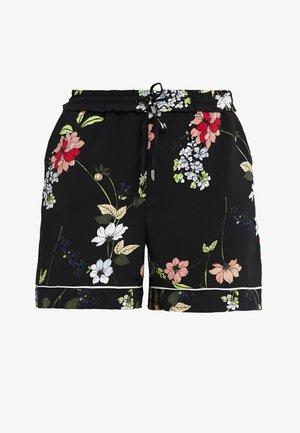ONLROSE STRING - Shorts - black/lestial blue/bright lime