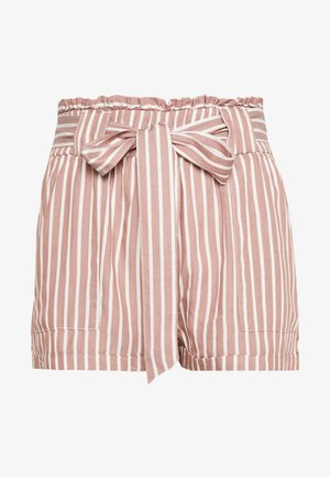 ONLMANHATTAN - Shorts - white/burlwood