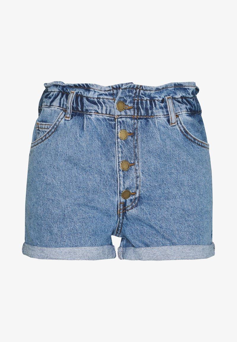 ONLY Petite - ONLCUBA LIFE  - Jeans Shorts - medium blue denim