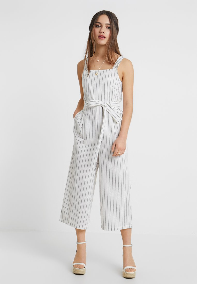 ONLY Petite - ONLCANYON STRAP CROP - Overal - cloud dancer
