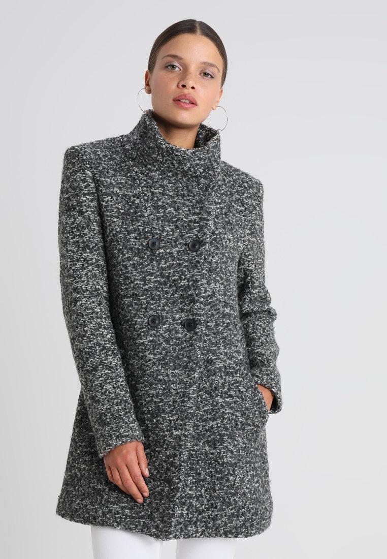 ONLY Petite - ONLSOPHIA COAT - Korte frakker - dark grey melange