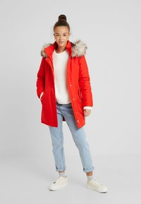 ONLY Petite - ONLKATY COAT - Parkatakki - fiery red - 1