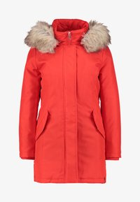 ONLY Petite - ONLKATY COAT - Parkatakki - fiery red - 4