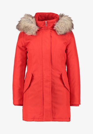 ONLKATY COAT - Parka - fiery red