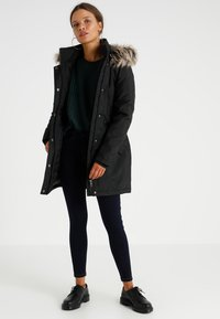 ONLY Petite - ONLKATY COAT - Parka - black