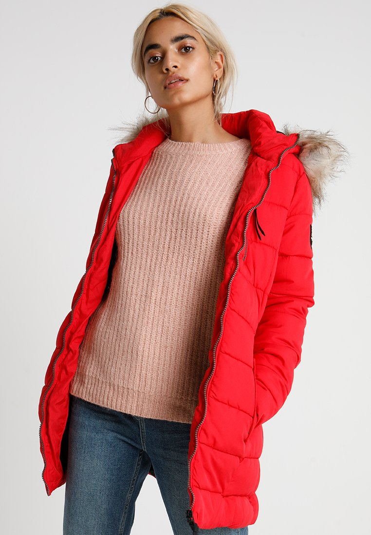 ONLY Petite - ONLNORTH COAT - Vinterfrakker - goji berry