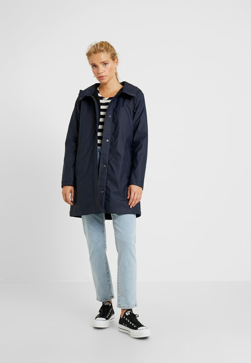 ONLY Petite - ONLVANESSA SHERPA - Parka - night sky