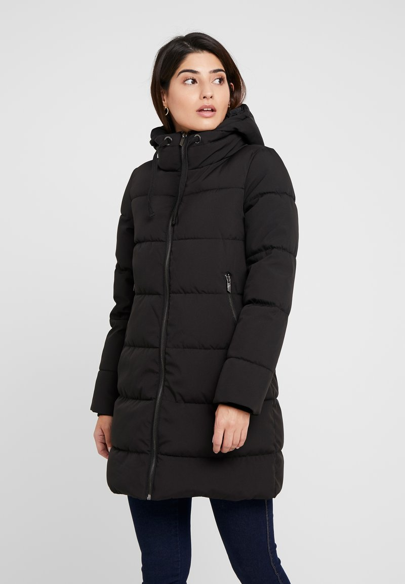 ONLY Petite - ONLALANA QUILTED COAT - Wintermantel - black
