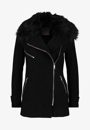 ONLCAROL BIKER - Krátký kabát - black