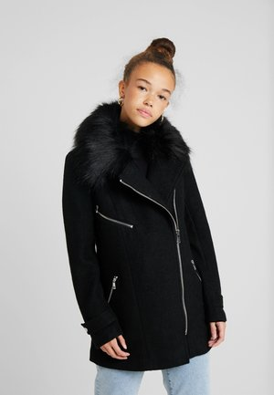 ONLCAROL BIKER - Manteau court - black
