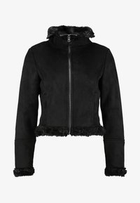 ONLY Petite - ONLEMMA BOND - Giacca in similpelle - black - 4