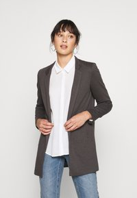 ONLY Petite - ONLSOHORUBY SPRING COAT - Abrigo corto - dark grey - 0