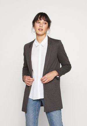 ONLSOHORUBY SPRING COAT - Kort kappa / rock - dark grey