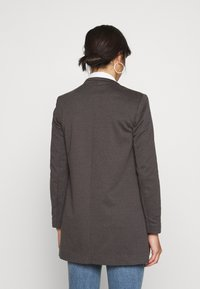 ONLY Petite - ONLSOHORUBY SPRING COAT - Abrigo corto - dark grey - 2