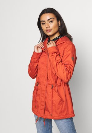 ONLNEWLORCA SPRING - Short coat - hot sauce