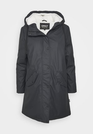ONLSALLY RAINCOAT - Parka - night sky//white