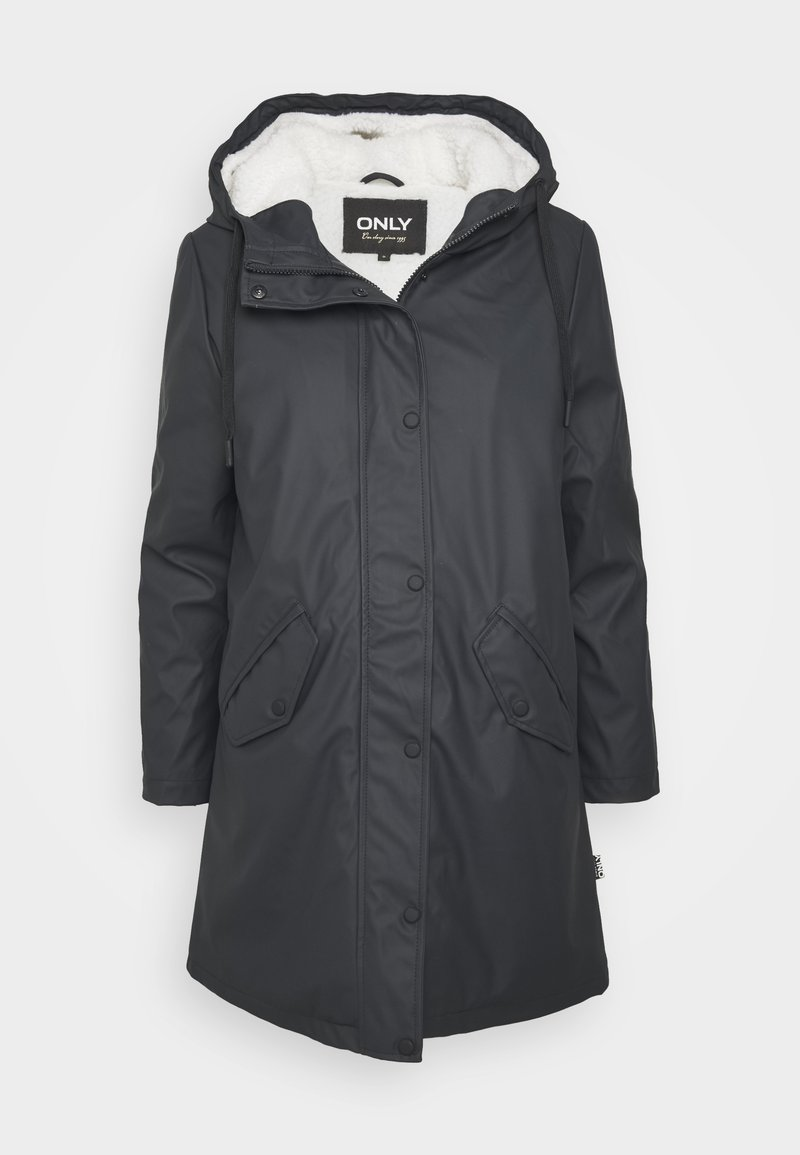 ONLY Petite - ONLSALLY RAINCOAT - Parka - night sky//white