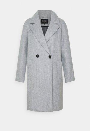 BERNA BONDED COAT - Classic coat - light grey melange
