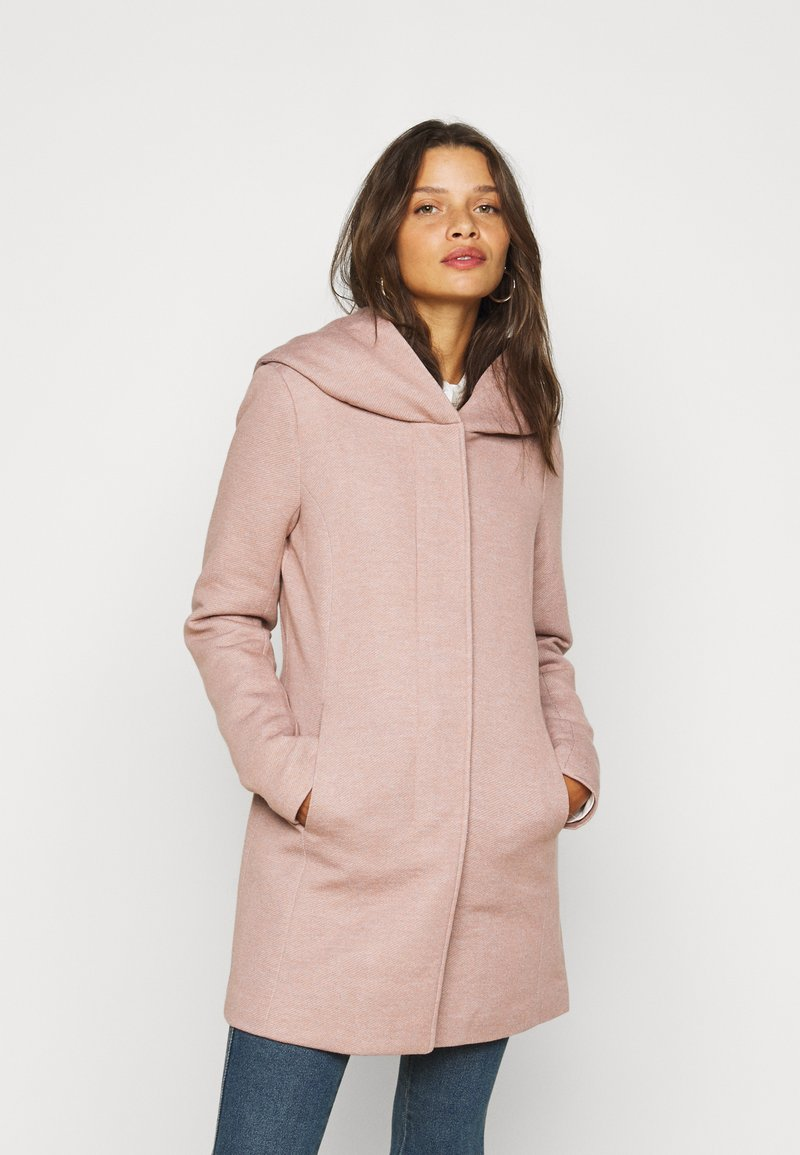 ONLY Petite - ONLSEDONA LIGHT COAT PETITE  - Short coat - mocha mousse melange