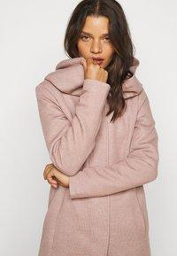 ONLY Petite - ONLSEDONA LIGHT COAT PETITE  - Short coat - mocha mousse melange - 2
