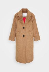 ONLVAL 7/8 SLEEVE COAT PETIT - Zimní kabát - toasted coconut