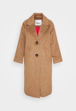 ONLVAL 7/8 SLEEVE COAT PETIT - Classic coat - toasted coconut