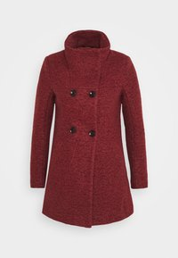 ONLY Petite - ONLNEWSOPHIA COAT - Cappotto corto - fired brick/melange - 4