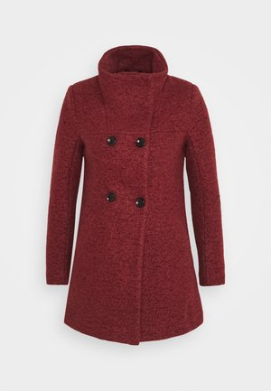 ONLNEWSOPHIA COAT - Short coat - fired brick/melange