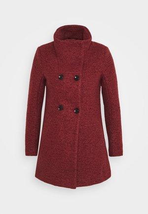 ONLNEWSOPHIA COAT - Halflange jas - fired brick/melange