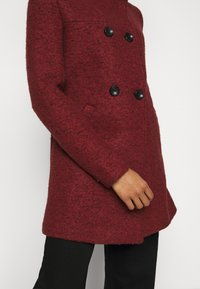 ONLY Petite - ONLNEWSOPHIA COAT - Cappotto corto - fired brick/melange - 5