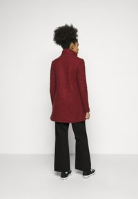 ONLY Petite - ONLNEWSOPHIA COAT - Cappotto corto - fired brick/melange - 2