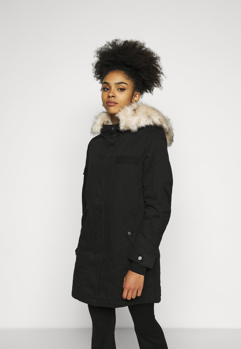 ONLY Petite - ONLMAY LIFE - Parka - black