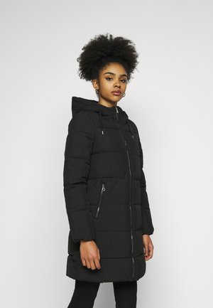 ONLDOLLY LONG PUFFER COAT - Vinterkåpe / -frakk - black