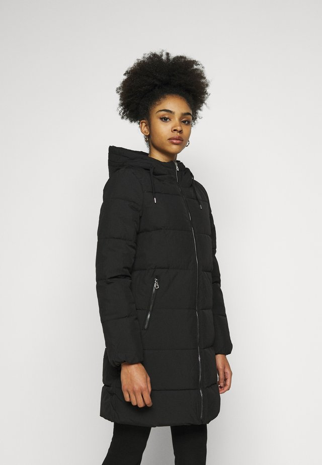 ONLDOLLY LONG PUFFER COAT - Winter coat - black
