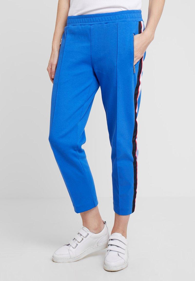 Marc O'Polo DENIM - TRACK PANTS - Jogginghose - blue hydrangea