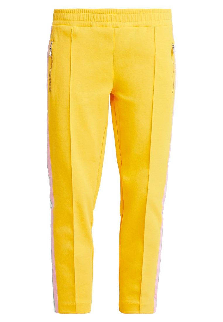 Marc O'Polo DENIM - TRACK PANTS MULTICOLORED - Trousers - mango orange