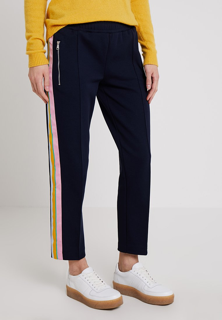 Marc O'Polo DENIM - TRACK PANTS MULTICOLORED - Trousers - blue night sky