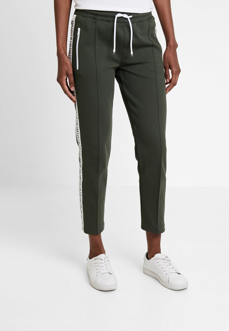 Marc O'Polo DENIM - TRACK PANTS - Tracksuit bottoms - action green
