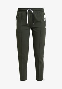 Marc O'Polo DENIM - TRACK PANTS - Tracksuit bottoms - action green - 3